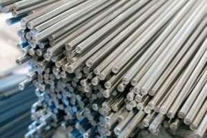 titanium round bars stock